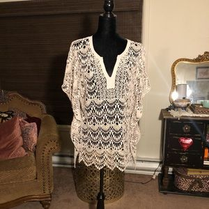 Beautiful crochet blouse